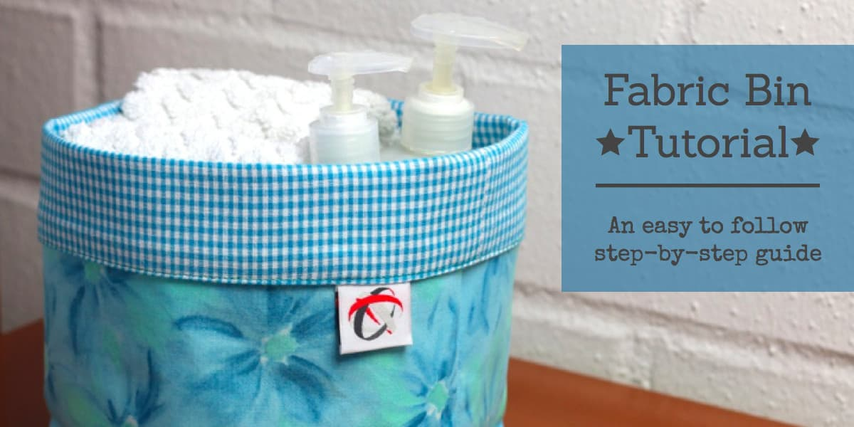 Fabric Bin Tutorial An Easy Step By Step Guide