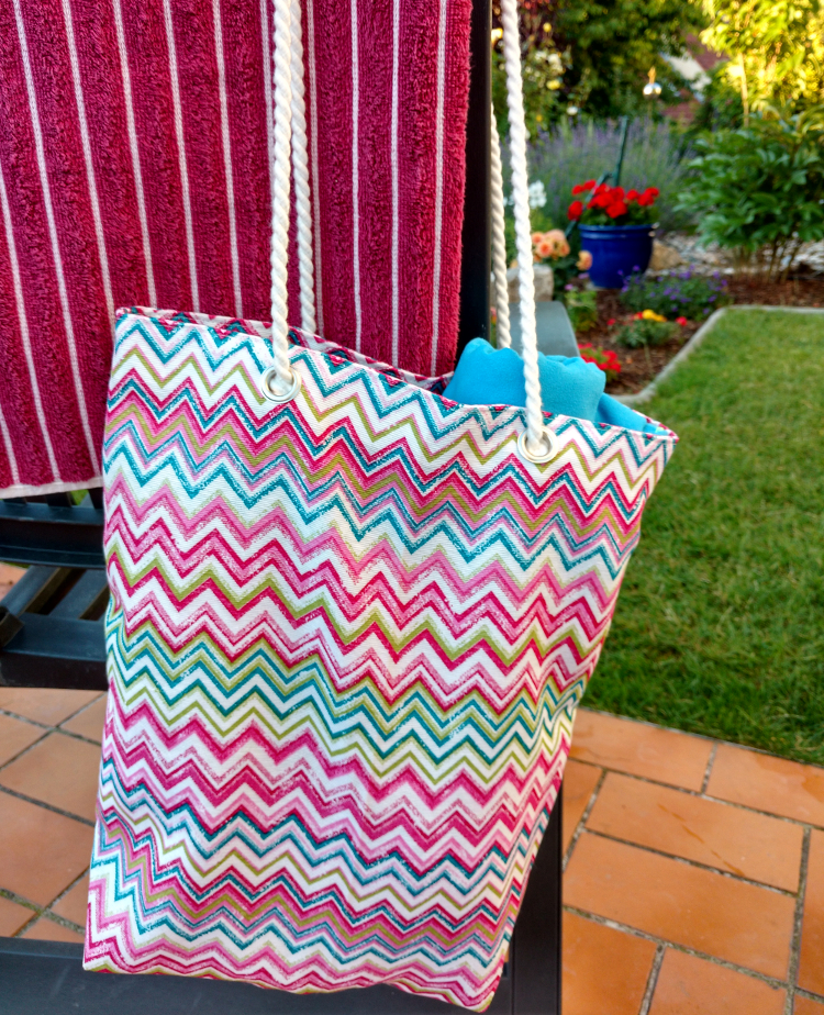 Tutorial: Sew your own Beach Bag