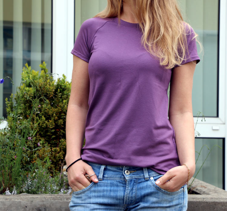 Hur man syr en Raglan Sleeve T-Shirt