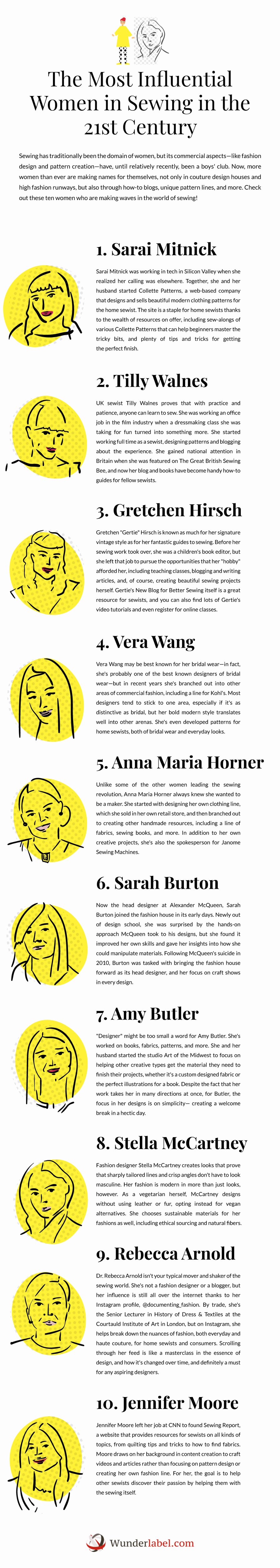 The Most Influential Women in Sewing in the 21st Century