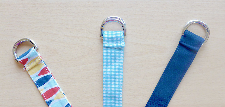 Sew Your Own Belts for Back to School