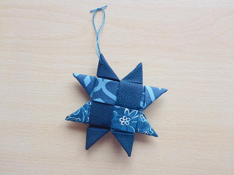 クリスマスツリー用お星さまオーナメントをハンドメイド