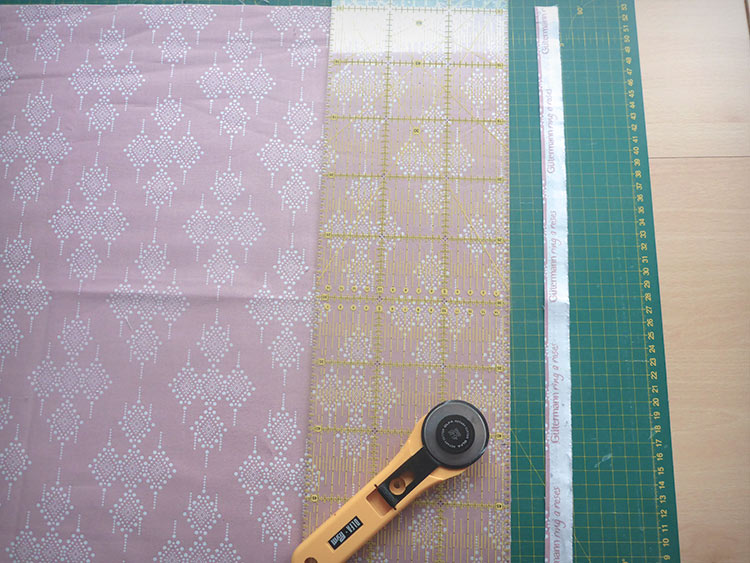 Come fare un cuscino patchwork: Post 2, Design & Taglio