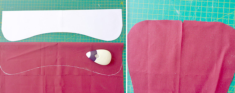 Dog Bone Sewing Pattern - Instructions and Template